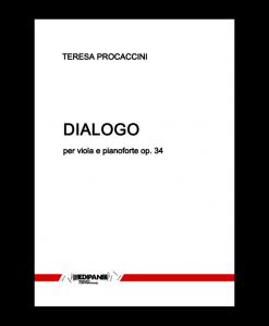 TERESA PROCACCINI Dialogo op. 34 per viola e pianoforte (1968)