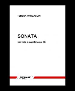 TERESA PROCACCINI Sonata op. 43 per viola e pianoforte (1969)