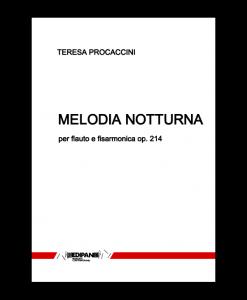 TERESA PROCACCINI Melodia notturna per flauto e fisarmonica (2015)